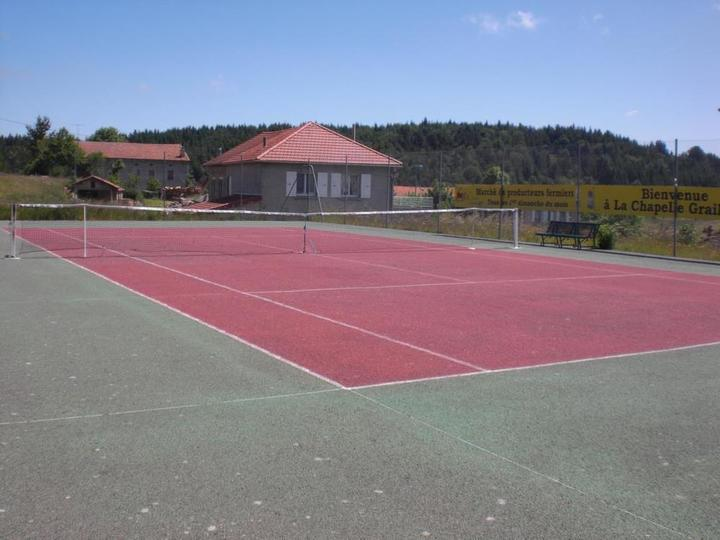 Court de tennis La Chapelle Graillouse